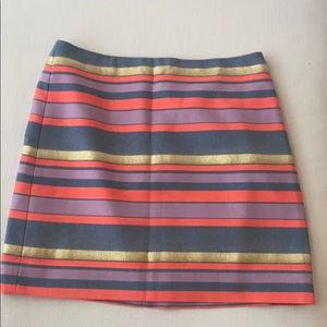 Beautiful J Crew Mini Skirt Like new